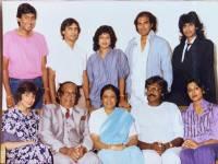 """Alaganathan """"Shunmugam"""" Pillay, Panoomathy """"Paula"""" Pillay and family"""